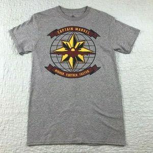 NEW Marvel Captain Marvel T-Shirt Size Small